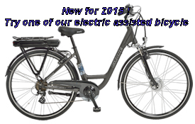 Try one of our eBike!